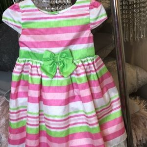 Other - 💓💚Pink and green striped dress💓💚